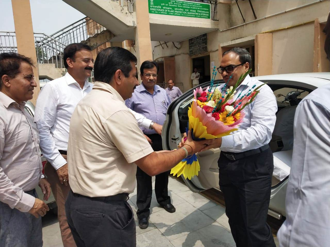 Welcome of Additional Secretary at Hqrs