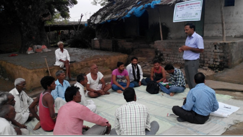 Discussion of IPM technique (Village-Bhimpura