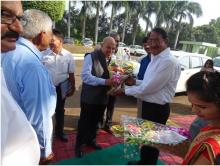 Welcome of Secy (Agri.) in the meeting of NHRDF